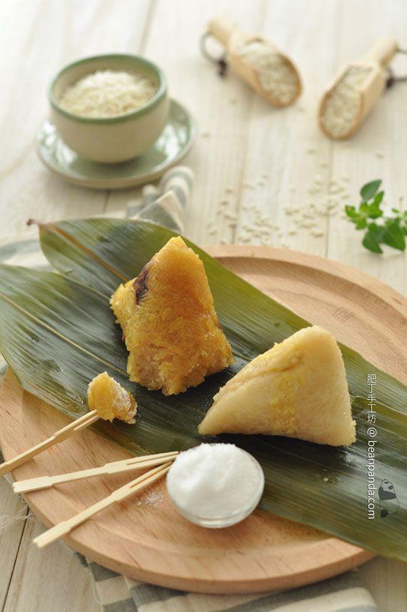 肥丁手工坊 - 鹼水豆沙粽+鹹肉粽