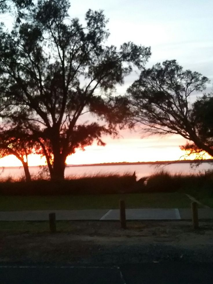 Photo taken by me on 110616. Winter sunrise across the estuary. Who is foursquare.com. and how do I get rid of them?