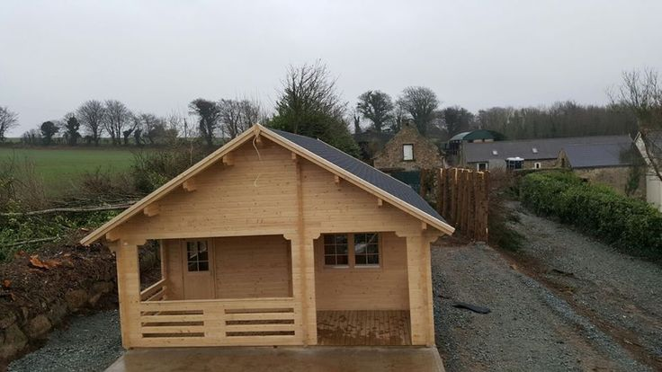 Two Bed Europa Log House Fully Fitted and Insulated here in Ireland