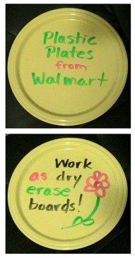 Dry erase surface