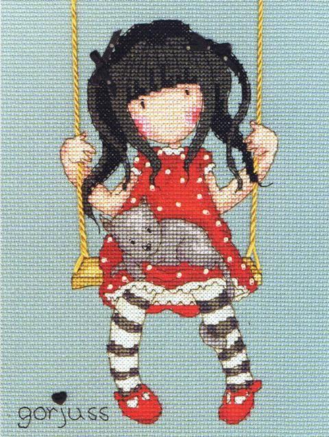 Gorjuss - Ruby (Counted Cross Stitch kit)