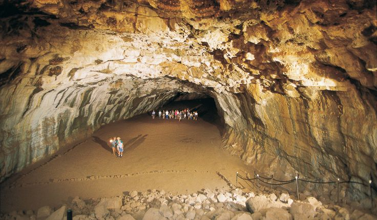 Go through the caves at Undara Volcanic National Park in Queensland.