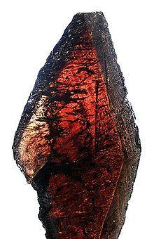 Manganaxinite