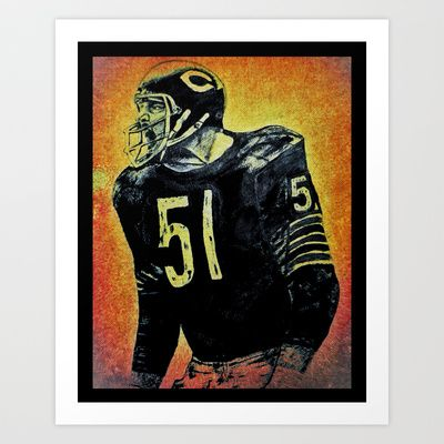 dick butkus sports illustrated posters
