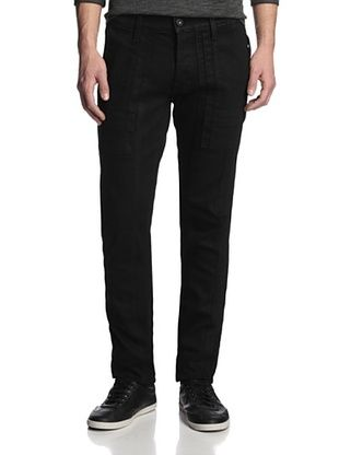 68% OFF Hudson Jeans Men's The Trouble and Stride Trouser (Black Wax)
