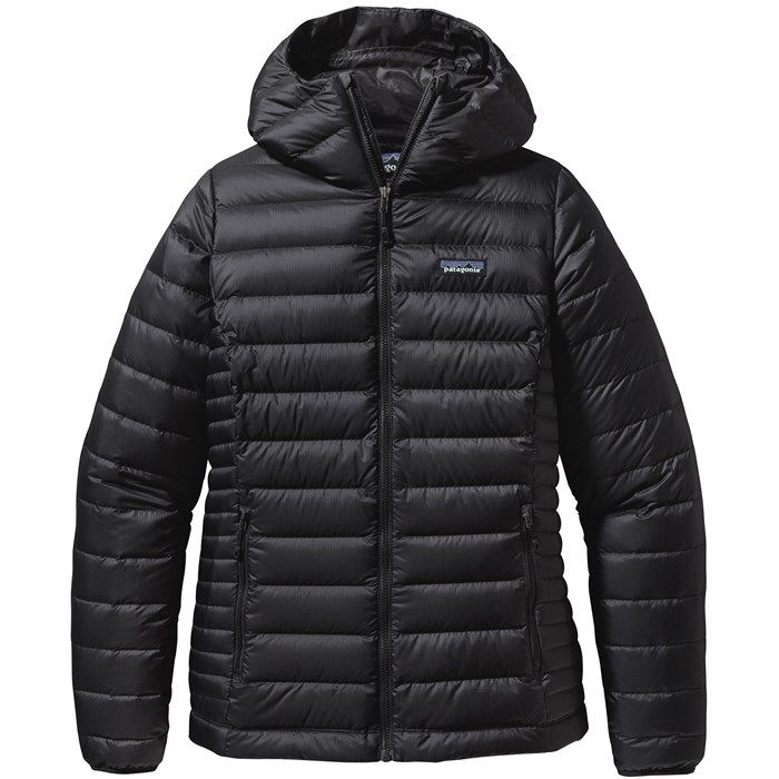 Nothing quite beats the feel of the Patagonia Down Sweater Hoodie. When the sun drops and the wind kicks up, snuggle into this power house of warmth! A windproof and water-resistant updated shell fabric features a DWR (durable water repellent) finish to help shed moisture. This lightweight hoodie also stuffs into its own pocket, making it perfect for on-the-go adventures where space is limited.