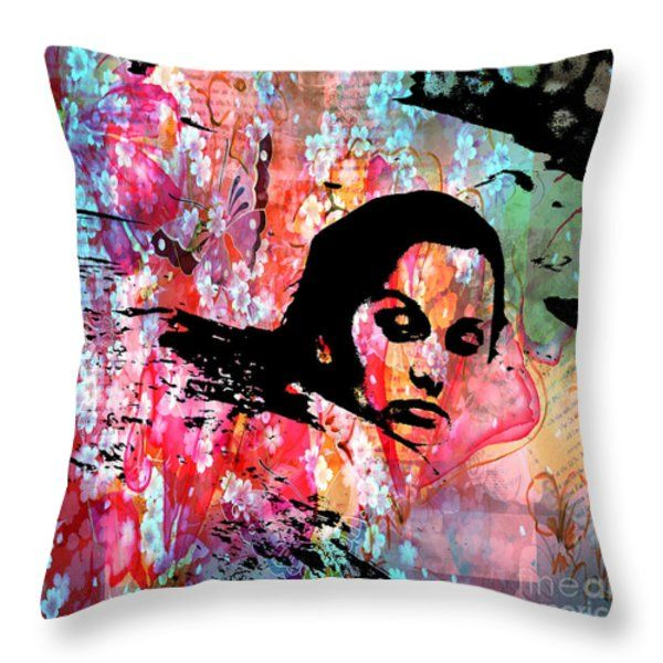 Throw Pillow featuring the photograph Tangled In Textures by Randi Grace Nilsberg