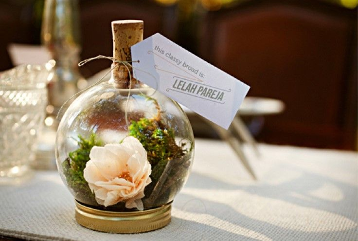 This is listed as a  Spring Wedding Favor Idea, but i think it would be a lovely gift or home decor item.