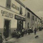 quarrata caffe augusto caiani piazza risorgimento anni 30
