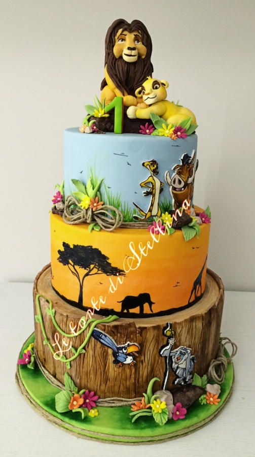 Il re leone/The Lion King - Cake by graziastellina