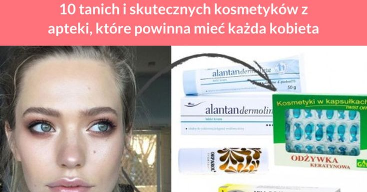 Większość kobiet przyzwyczajona jest do kupowania kosmetyków w drogeriach. Jednak kosmetyki apteczne często są dużo bardziej skuteczne i bardzo tanie. Poznaj listę najlepszych kosmetyków z apteki. #Odżywka keratynowa GAL – ...
