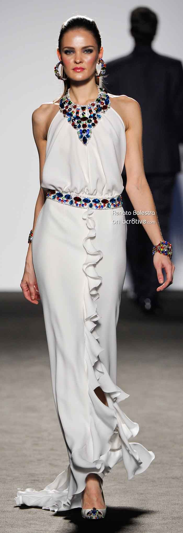 Renato Balestra  Couture www.finditforweddings.com stunning fashion evening dress