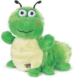 Caterpillar Webkinz Stuffed Animal by Ganz