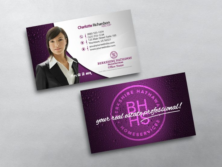 12 best berkshire hathaway realty agent business card templates real estate business card templates for berkshire hathaway agents we design print berkshire hathaway business cards flashek Images