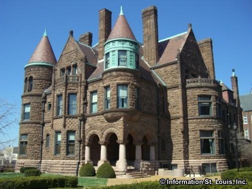 Samuel Cupples HouseSt Louis Historic Homes Pinterest