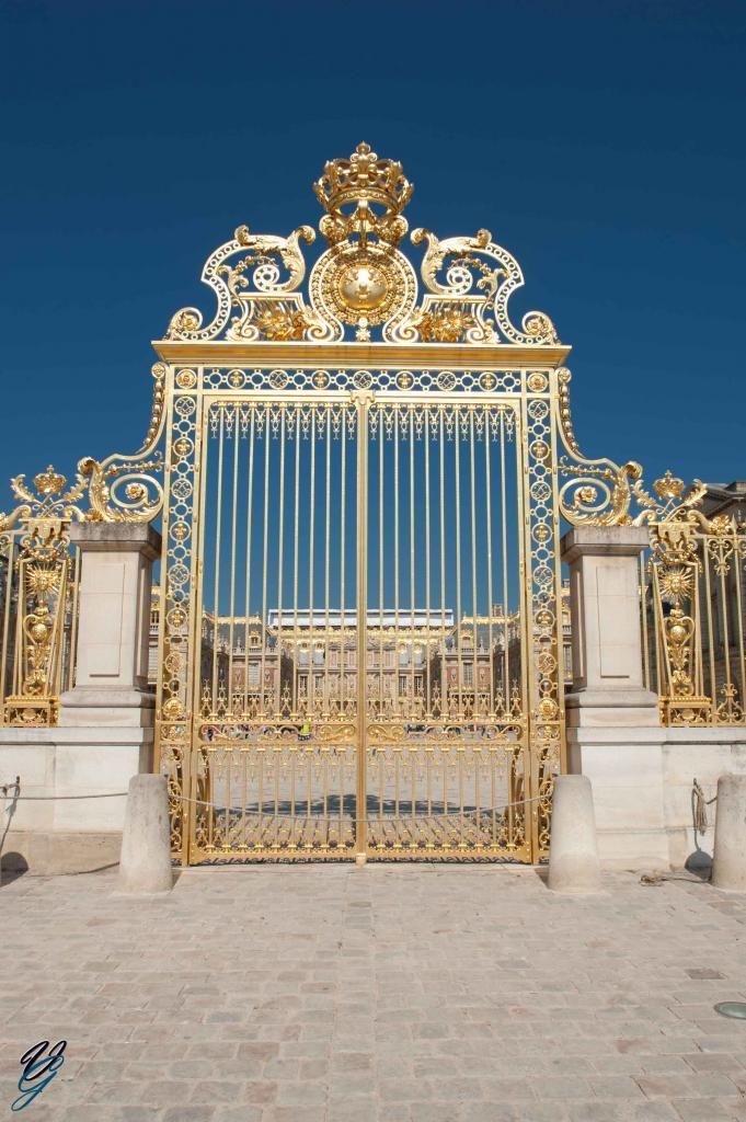 Entrée du Chateau de Versailles