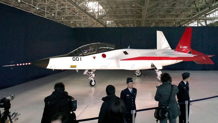 Japan Unveils Its First Stealth Fighter That Is Invisible To Any Radar - https://technnerd.com/japan-unveils-its-first-stealth-fighter-that-is-invisible-to-any-radar/?utm_source=PN&utm_medium=Tech+Nerd+Pinterest&utm_campaign=Social