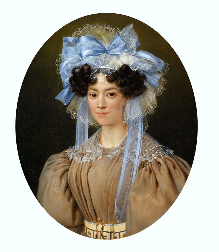 Isidore Pean Du Pavillon (1790–1856) Portrait of a Lady