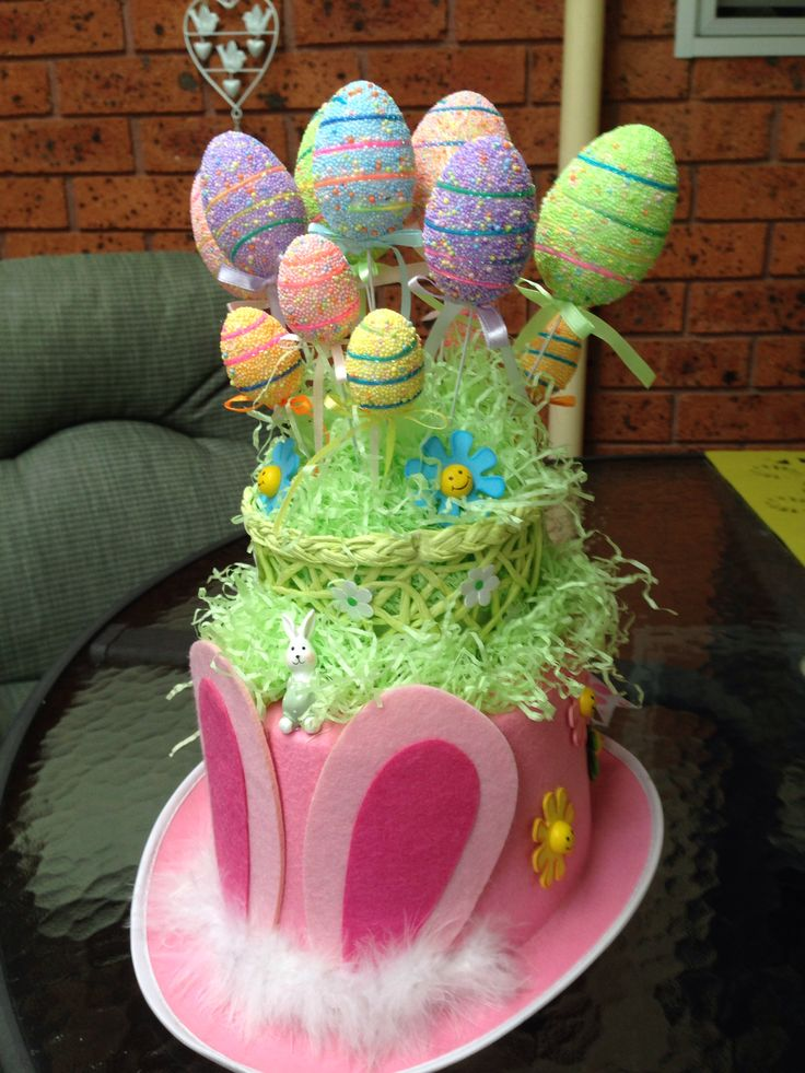 First ever Easter parade hat