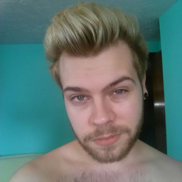 One of my favorite hairstyles I rocked in September 2016 #men #hair #balayage #blonde #short