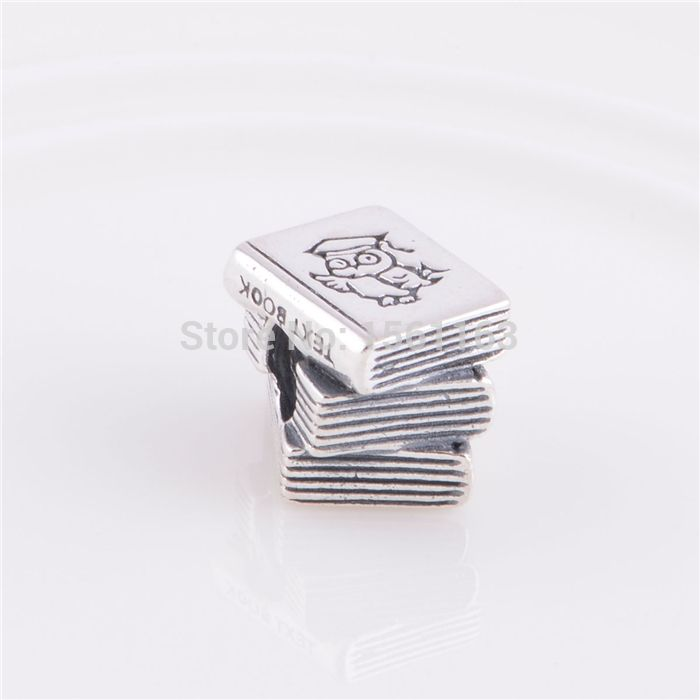 Cheap charm bracelet, Buy Quality charm tag directly from China charm Suppliers: Fits Pandora Charms Bracelet Wholesale Fashion Jewelry Hot Sale Silver Bracelets charms Study Book stamped silver