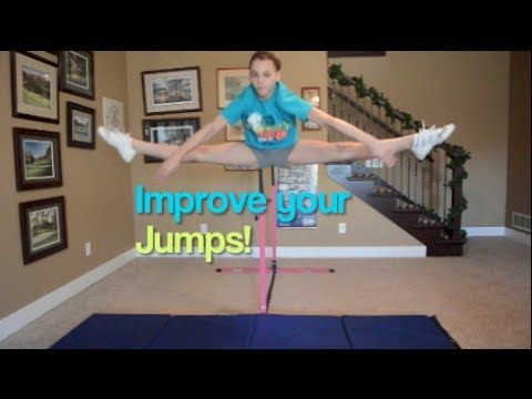 How to do a toe touch and how to improve it!