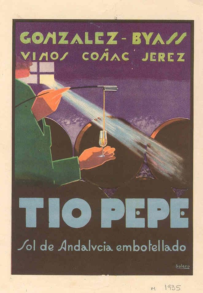 """1935: Solero: """"Sol de Andalucía..."""". / 1935: Solero: """"Andalusían Sun...."""""""
