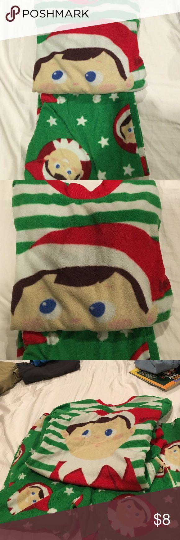 Kids Christmas pjs The elf on the shelf pj Pajamas Pajama Bottoms