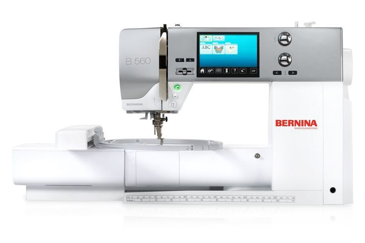 Bernina 560 E Sewing and Embroidery Combinations
