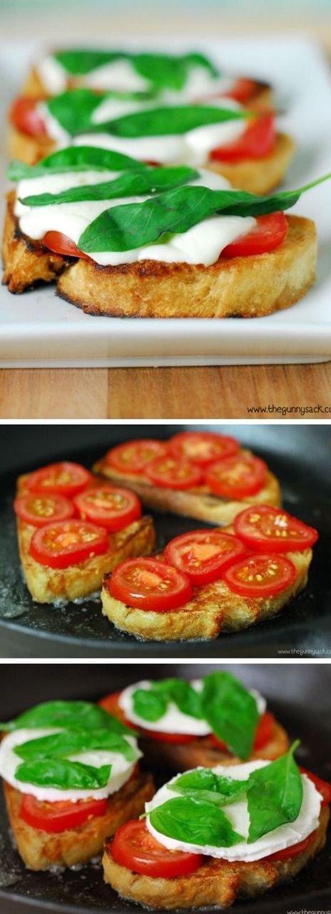 Grilled Margherita Sandwiches are fantastic with fresh tomatoes! Try making them over a campfire in a cast iron skillet.