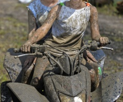 8. Go mudding with loved one
