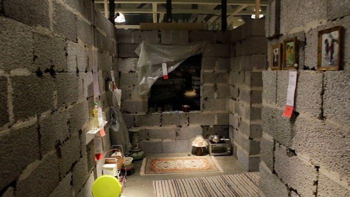 Ikea vytvořila ve svém obchodním domě pokoj ze Sýrie