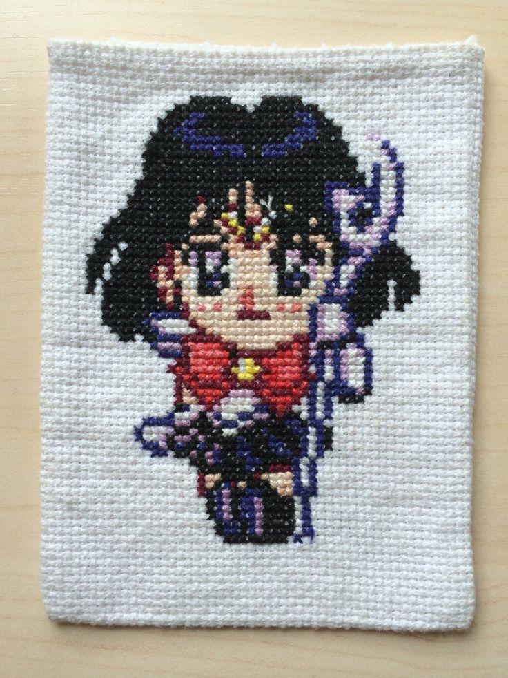 Sailor Saturn http://animestitchblg.wordpress.com/2014/03/16/025-sailor-saturn/
