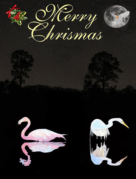 Merry Christmas - Customised Christmas Cards Fine Art America