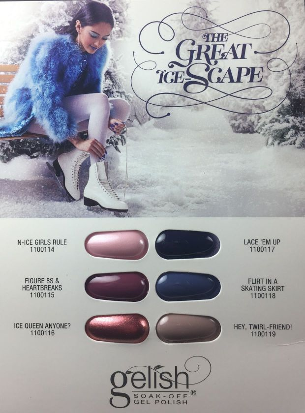 HARMONY GELISH - THE GREAT ICE SCAPE : la collection hiver (vernis permanent)