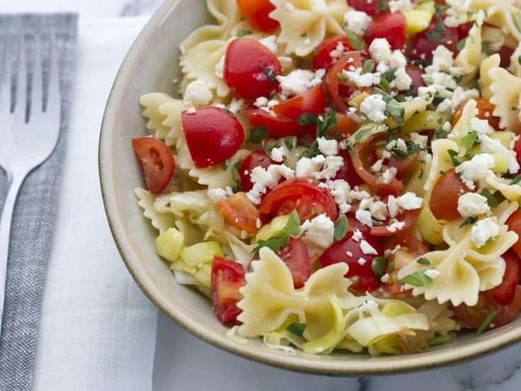 Tomato, Feta, and Thyme Farfalle