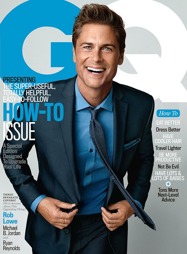 Rob Lowe Talks About His Brothers & Sisters and The West Wing Departures Ahead of The Grinder Premiere  Rob Lowe, GQ October 2015