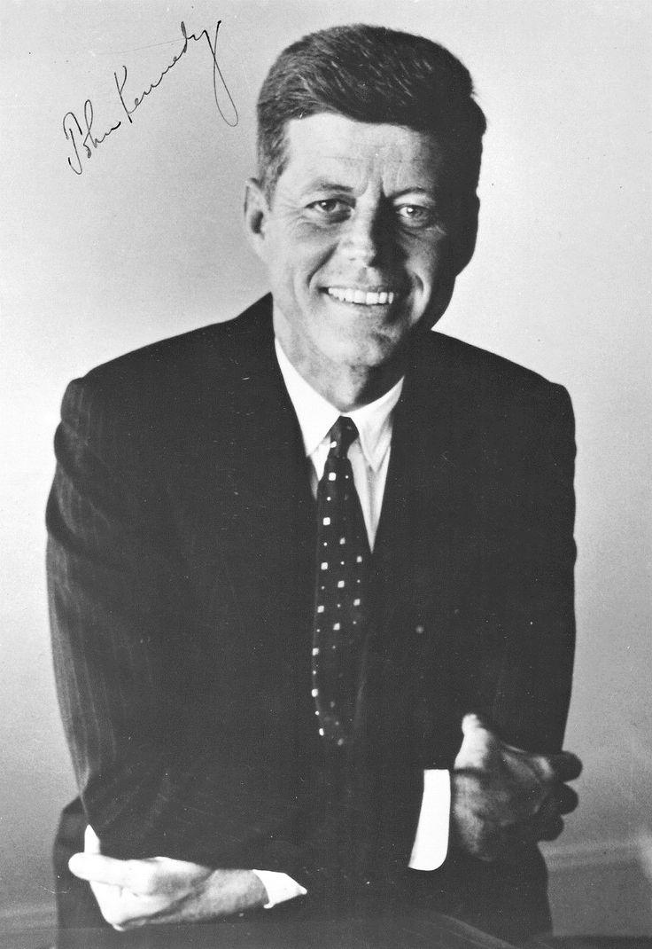 Senator~~ John Fitzgerald Kennedy (may 29, 1917 €� November 22, 1963