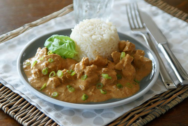 Crockpot Indisches Butter Chicken