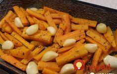 Táto mrkva je ešte chutnejšia ako pečené, alebo vyprážané zemiaky. Robím minimálne z dvoch kíl, táto príloha ide u nás na dračku!:-)