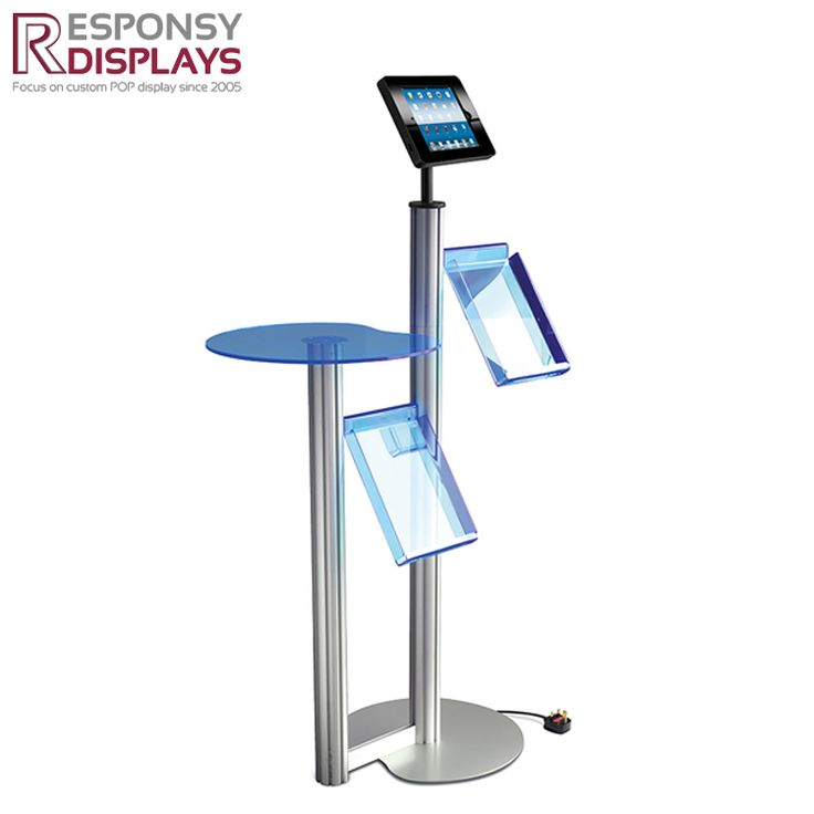 Counter Acrylic & Metal Display Stand Electronic Product Display