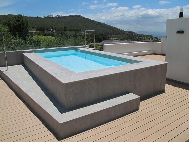 M s de 25 ideas incre bles sobre piscinas elevadas en for Diseno jacuzzi exterior