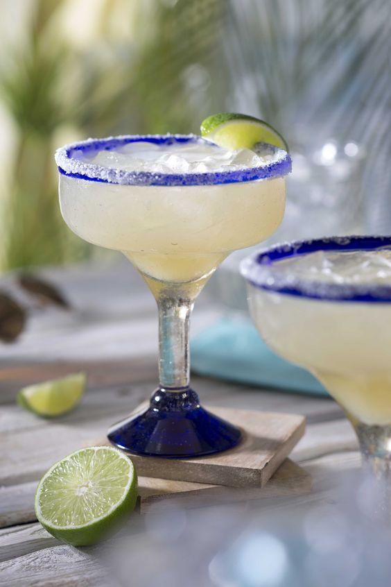 Cocktail • Top Shelf Margarita • Fresh Lime, Lemon & Pressed Sugarcane Juice • Silver Tequila & Cointreau •