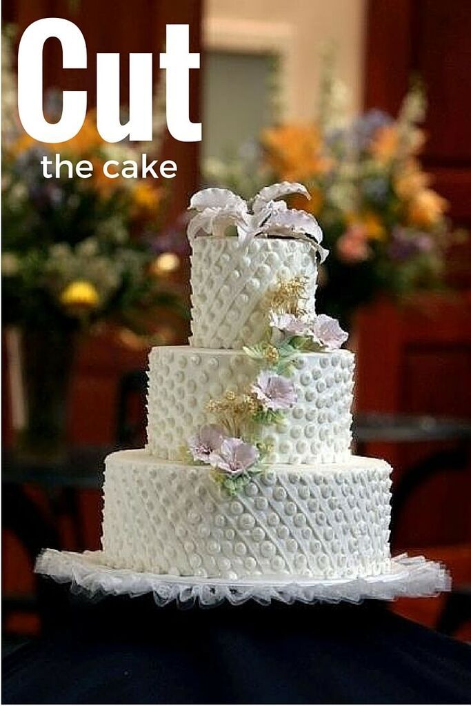 When It S Time To Cut The Cake In Style Our Pastry