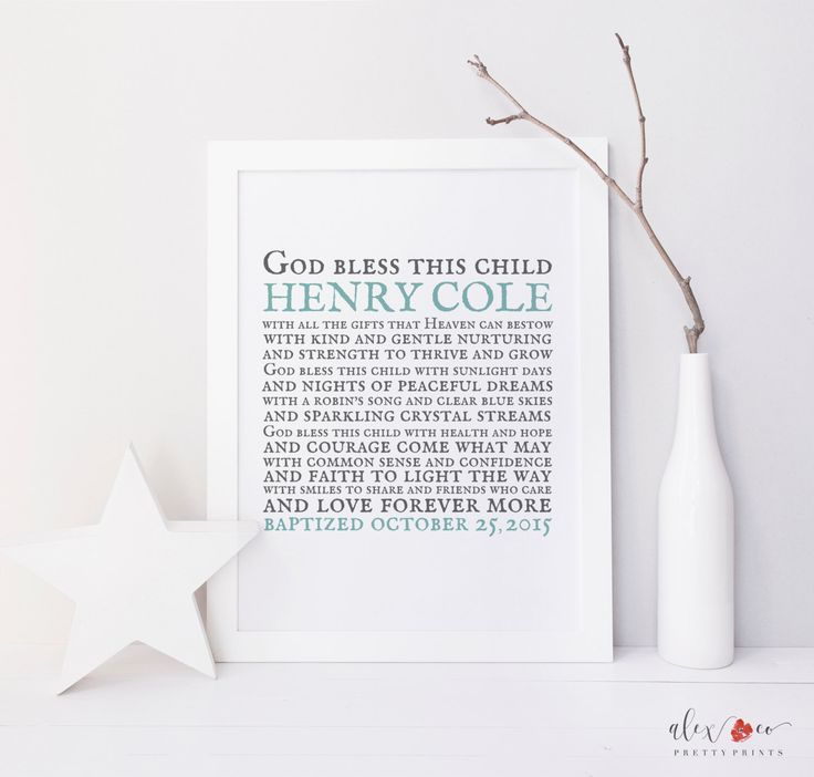 Personalized Baptism Gift. Baptism Printable. Baby Boy Baptism Gift. Baby Girl Baptism. Christening Gifts For Boys. Baby Girl Gift. Baptism by alexandcoprintables on Etsy https://www.etsy.com/listing/180007058/personalized-baptism-gift-baptism