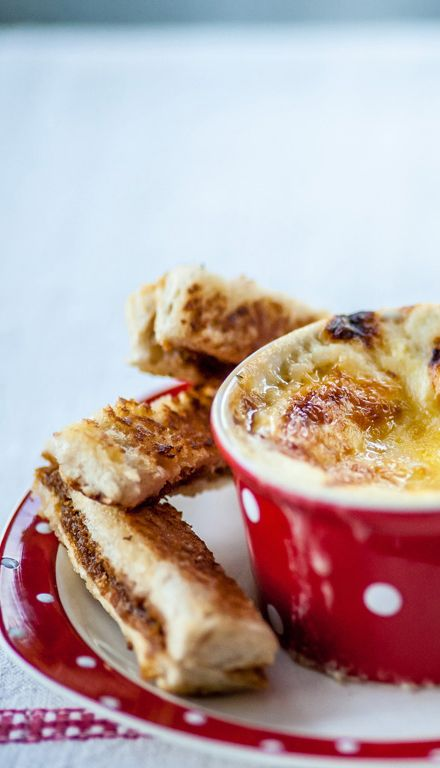 For a deliciously cheesy baked egg recipe, Alyn Williams has got a fun breakfast or snack option for kids. Marmite soldiers make a tasty pairing with the egg, but feel free to leave it out if the little ones aren't fans of the savoury spread