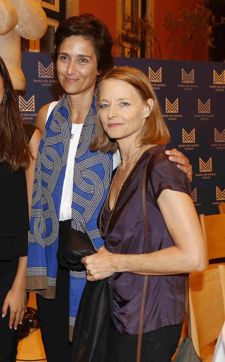 Jodie Foster et sa femme Alexandra Hedison à Lisbonne en 2016