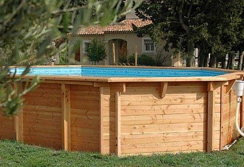 Image result for patio piscine hors terre ideas for Backwash piscine hors terre