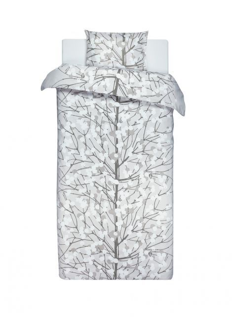 Lumimarja duvet cover set (beige, white) |Décor, Bedroom, Duvet covers | Marimekko