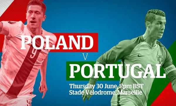 Poland v Portugal: Euro 2016 quarter-final  live!